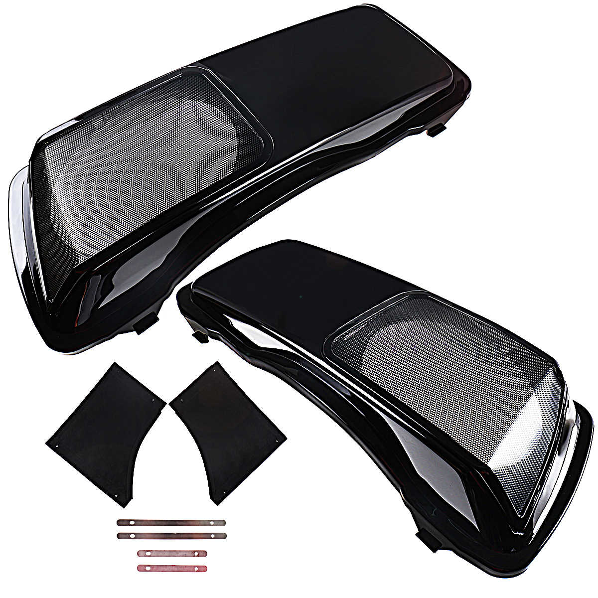 6x9 Speaker Saddlebag Lids For Harley Touring 1993-2013 Electra Street Glide FLHX CVO Style