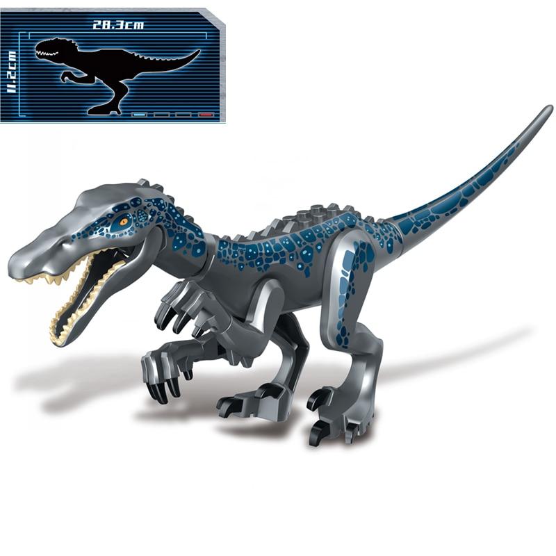 2019 Jurassic World Park Dinosaur Tyrannosaurus Carnotaurus Pterosaur Baryonyx Building Blocks Bricks Education Kids Toys Gift