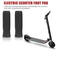 2 uds Scooter Eléctrico agarre manga antideslizante cubierta de silicona para Ninebot ES1 ES2 ES3 ES4 skate accesorios para Scooter