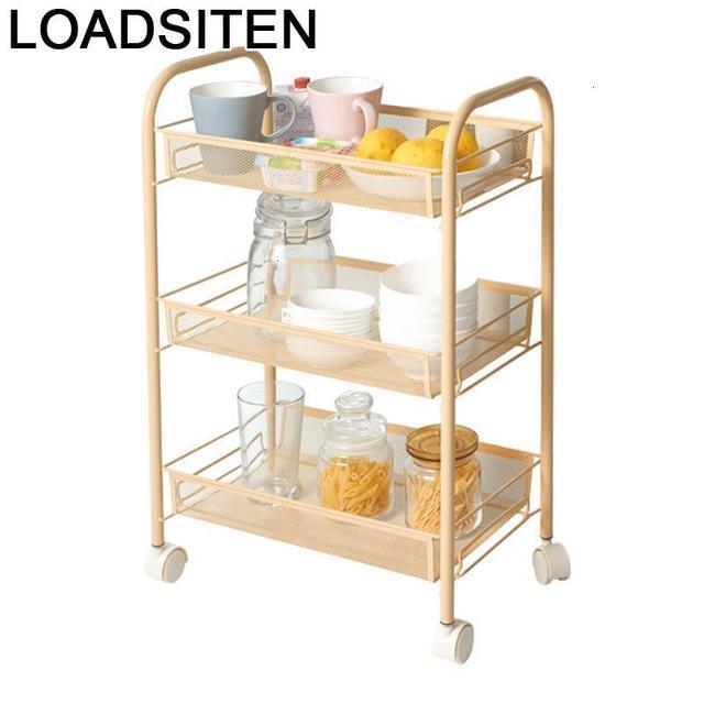 מדף Estanteria Etagere Rangement Utensilio דה Cozinha ספוג מחזיק בית מטבח אחסון ארגונית עם גלגלים Prateleira מתלה