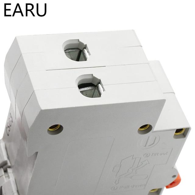 Disjoncteur solaire Mini disjoncteur 500V cc 2P | Système PV à courant Direct MCB 1/3/6/10/16/20/25/32/40/50/63A protecteur