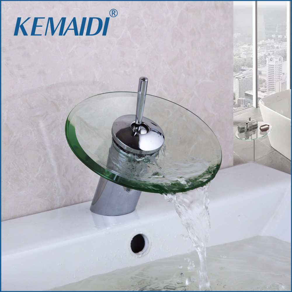 Kemaidi Bathroom Faucet Gl Waterfall
