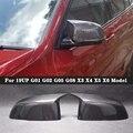 M Stijl Carbon fiber achteruitkijkspiegel cover Voor BMW X3 X4 X5 X6 G01 G02 G05 G08