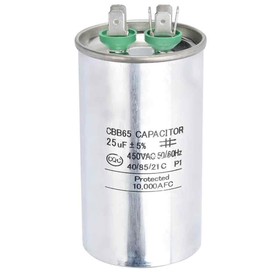 CBB65A 450V 35UF Round Capacitor Aluminum Foil Air Conditioning Start Capacitor,industrial equipment motor drive capacitor