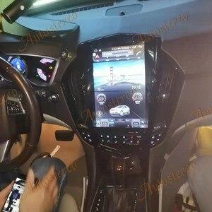 Image 4 - Para cadillac srx 2008 + android 10.0 tesla rádio estilo vertical unidade central de navegação gps do carro multimídia player rádio gravador fita