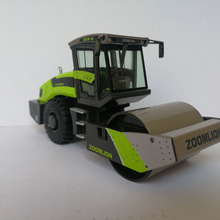 1:50 Zoomlion ZRS326 гидравлический однобарабанный Вибрационный дорожный каток 1:50 Масштаб литые игрушки