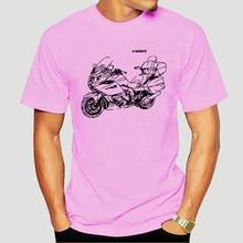 2019 mode K1600GTL T-Shirt mit Grafik K 1600GTL Motorcycyle Rally K 1600 GTL Motorrad FAN T shirt-2196A