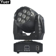7x12W High Power RGBW 4IN1 LED Beam Wash Eyes Bee Moving Head Light DMX512 Sound 5/16 Channels Stage DJ Disco Party Lighting