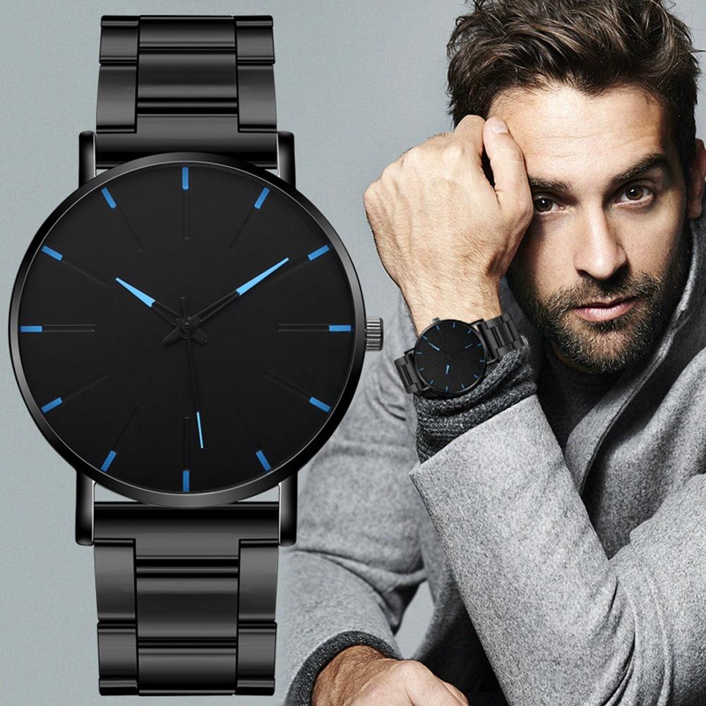 2020 минималистичные мужские модные ультра тонкие часы простые мужские деловые часы из нержавеющей стали с сетчатым ремешком кварцевые часы Relogio Masculino| |   | АлиЭкспресс - Я б купил