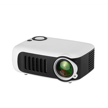 A2000 Movie Video 2pcs LCD Screen Home Theater 1080P HD LED Projector Mini Porta