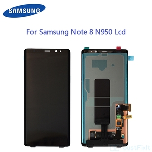 "Original For Samsung Galaxy Note8 Note 8 N9500 N950FD N950U Defect Lcd Display Touch Screen Digitizer Assembly 6.3"" Super Amoled(China)"