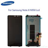 Super Amoled Für Samsung Galaxy Note8 Hinweis 8 N9500 N950FD N950U Defekt Lcd Display Touchscreen Digitizer Montage 6 3