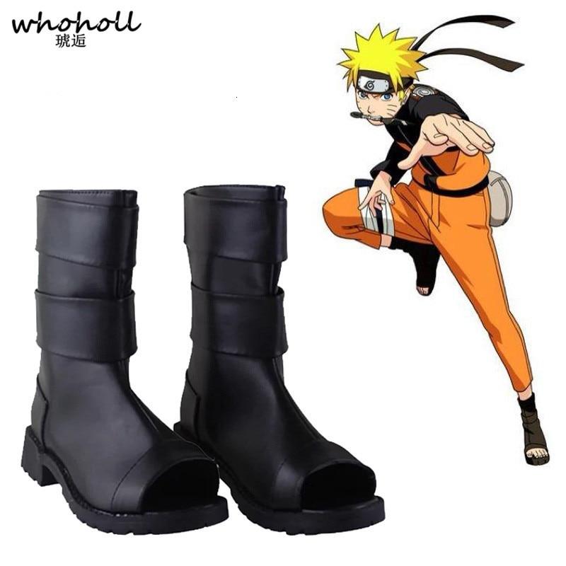 WHOHOLL Cosplay Naruto Ninja Shoes COS Sandals Shinobi Costumes Shoes Uzumaki Naruto Boruto Sasuke Summer Breathable Shoes