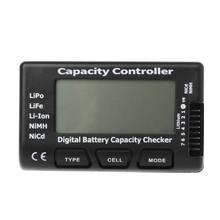 Verificador de capacidade da bateria digital rc cellmeter 7 para lipo li-ion nimh nicd navio da gota