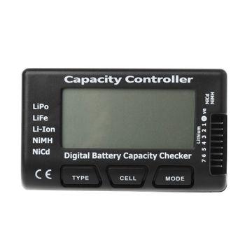 strong Import List strong Cyfrowy akumulator sprawdzający pojemność RC CellMeter 7 dla LiPo LiFe Li-ion NiMH Nicd Drop Ship tanie i dobre opinie peacefair NONE CN (pochodzenie) ELECTRICAL 20202020 Tester Baterii gospodarstwa domowego