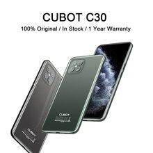 CUBOT C30 Smartphone globalny 4G LTE Helio P60 256GB 48MP tylny Quad AI aparat Android 10 inteligentny telefon z NFC 4200mAh baterii