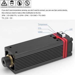 Image 4 - 3500mW 20000mW 450nm niebieskie światło głowica laserowa dla seria mistrzowska DIY rzeźba grawerowanie maszyna grawer akcesoria