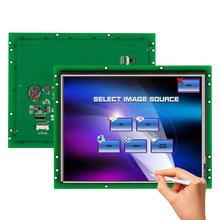 Панель касания LCD 10 дюймов с водителем + контроллер RS232 с USB на UART порт поддержка любой микроконтроллер