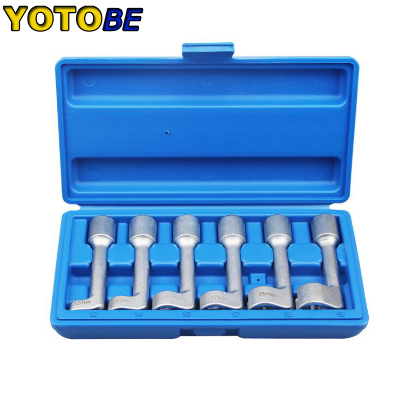 Diesel Fuel Injector Line Injection Socket Tool Set 12