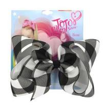 New  8 Inch Hair Bow Holiday Print Ribbon For Girls With Clips Bowknot Custom Made Handmade Accessores