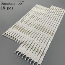 18pcs/Set Sam UE55JU6800 V5dr 550scb R0 Led-Strip Sung for BN96-38482A New