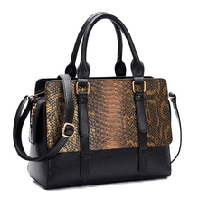 Fashion Snake Alligator Women Handbag Designer Belts Female Shoulder Crossbody Bags Luxury Pu Leather Large Capacity Totes Purse
