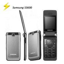 Soyes Unlocked Samsung S3600 GSM Refurbished Flip-Phone Cellphone-English-Keyboard Original