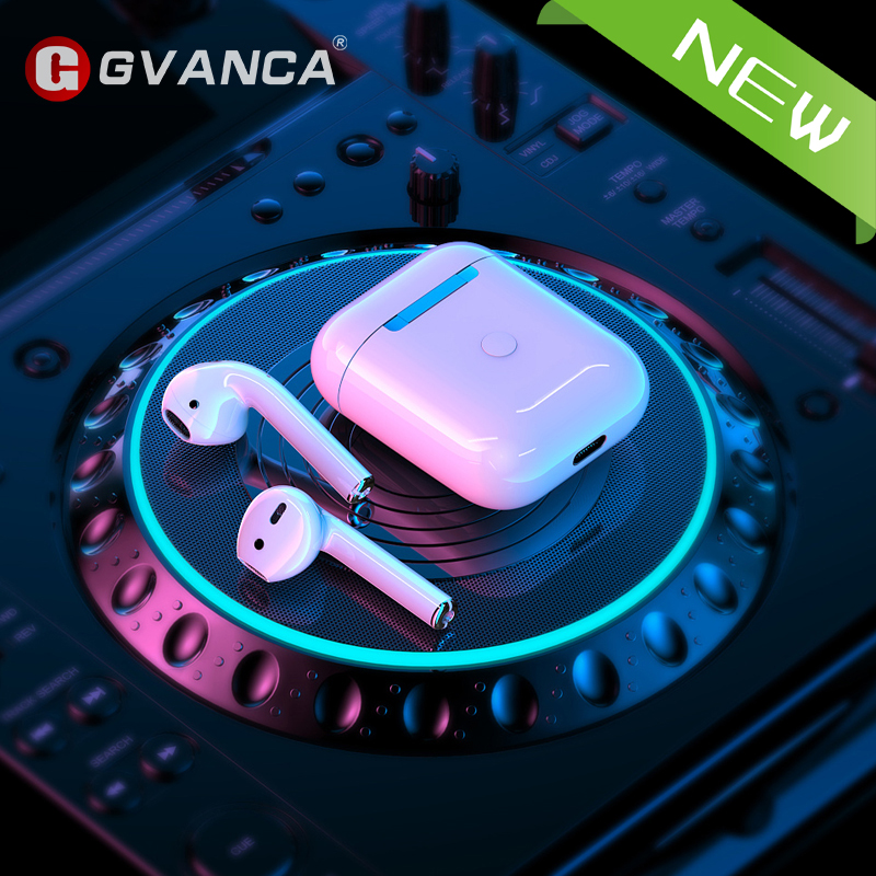 GVANCA TWS G8 Air 2nd Bluetooth 5.0 Wireless Earphone Headphone Headset for IOS Device and Android Phones