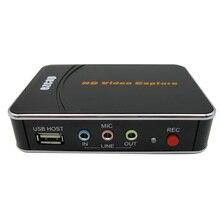 Di ricambio per PS4 Xbox HD 1080P Gioco HD Scheda di Acquisizione Video Recorder Box HD Video in Flash USB di UE spina