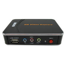 استبدال ل PS4 Xbox HD 1080P HD لعبة فيديو بطاقة التقاط الصوت والفيديو مسجل صندوق HD فيديو إلى فلاشة مزودة بفتحة يو إس بي الاتحاد الأوروبي التوصيل