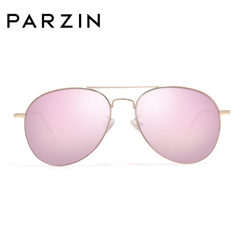 Image 4 - PARZIN Sunglasses Women Classic Pilot Sun Glasses For Men High Quality Alloy Frame Ladies Shades UV 400 53 mm  Driving Glasses-in Women's Sunglasses from Apparel Accessories