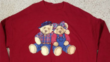 Vtg Decotex 90S Leuke Teddybeer Beren Crewneck Sweater Maat 3Xl Usa Made Gratis Verzending Tee Shirt(China)