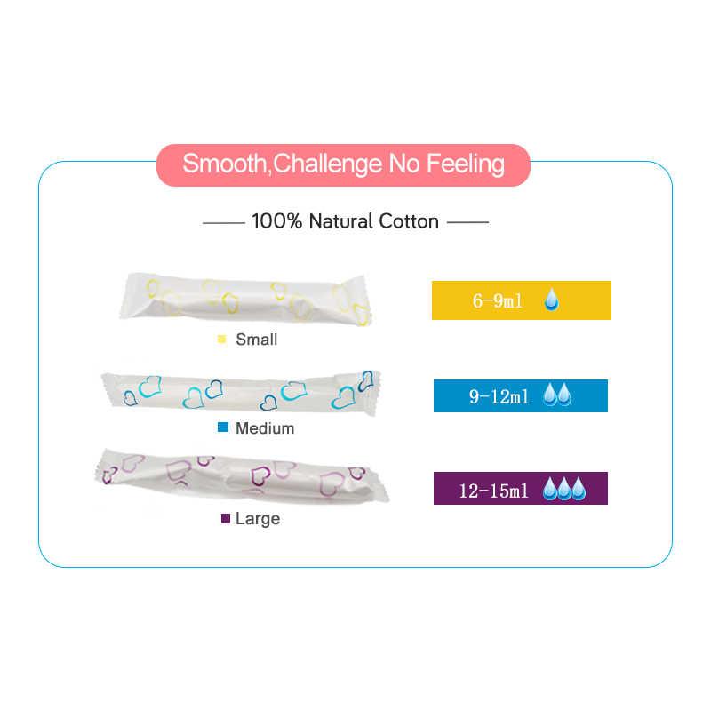 9 pz/lotto tamponi Igienici con applicatori meglio di tovagliolo Sanitario Igiene Femminile tamponi Prodotto per la cura della Salute delle donne