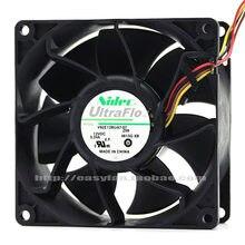Para Nidec V92E12BUA7-07 9038 90X90X38MM 9CM DC 12V 3.24A 9CM ventilador de refrigeración