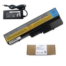 Аккумулятор для ноутбука 4400 мАч L08O6D01 L08O6D02 + зарядное устройство переменного тока 20 в а для LENOVO IdeaPad Y430 V430A V450A G430 G450 G530 G550 N500