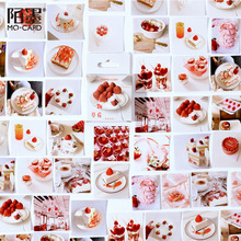 Stationery Korean Planner Diary-Stickers Strawberry-Decoration Scrapbooking 46pcs/Box