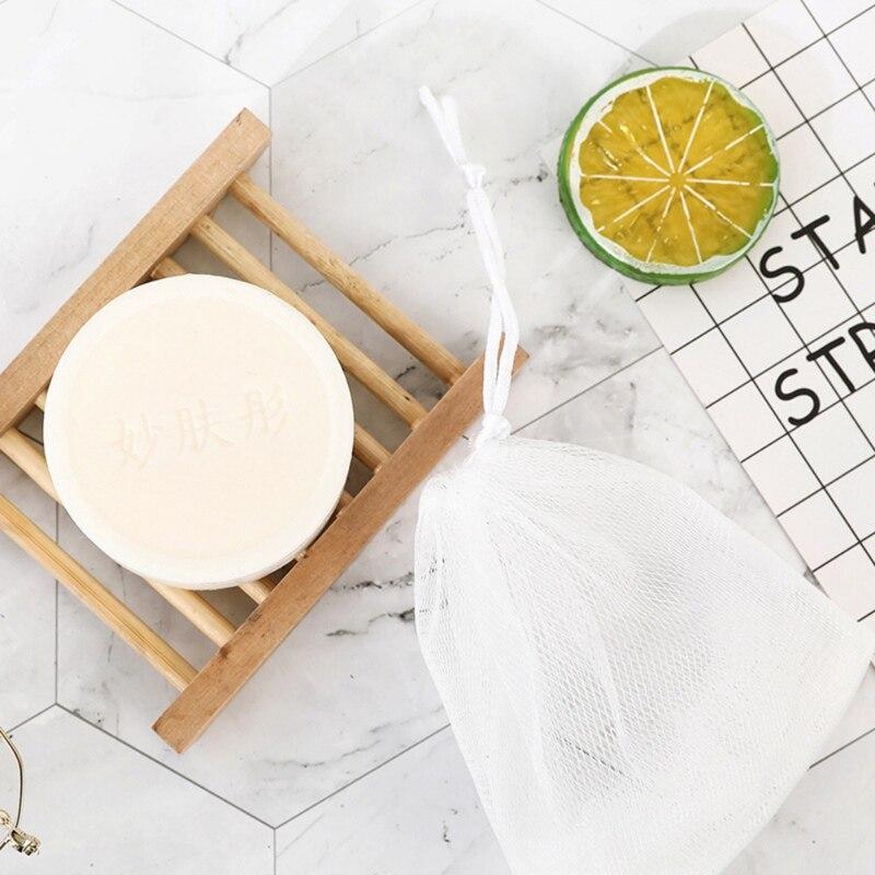 Niacinamide Sea Salt Pearl Soap Oil-control Anti-acnes Anti-mites Moisturizing Whitening Soap Increase Skin Elasticity: