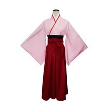Brdwn Fate Grand Order Womens Pink Saber Okita Souji Sakura Cosplay Costume Kimono цена 2017