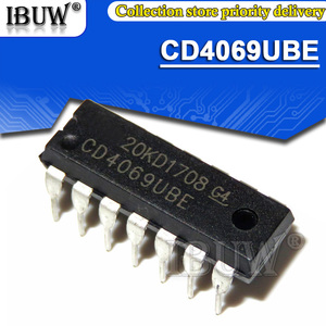 10PCS CD4069UBE DIP14 CD4069 DIP-14 DIP