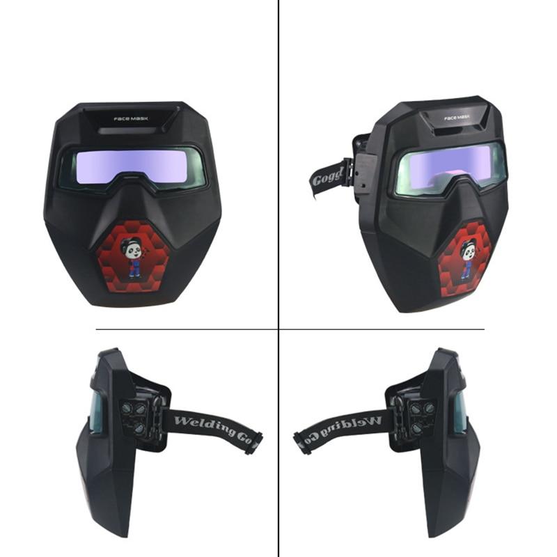 Tools : TX-R01 Auto Darkening Welding Goggles Wide Shade with Welding Glasses Welder Mask Welding Helmet for TIG MIG ARC Plasma Cut