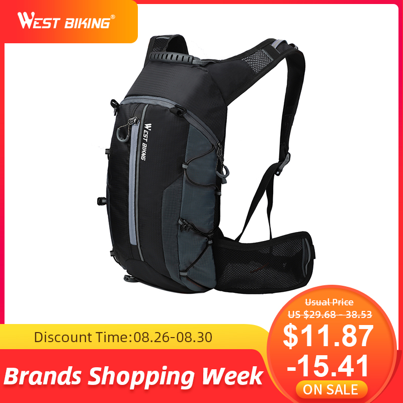 Cycling Backpack West-Biking Waterproof 10L Ultralight Climbing Breathable