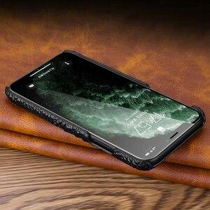 Image 5 - Hakiki deri iPhone için kılıf 11 Pro Max Case arka lüks Croc kafa telefonu çanta kılıfı iPhone 11Pro Max durumda, CKHB OP