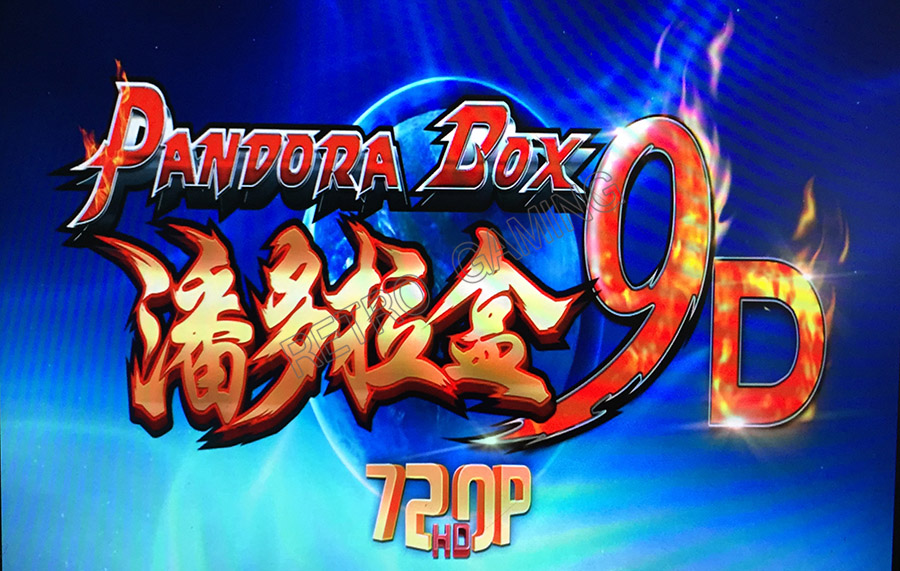 Customized 3D Pandora Box 9D Arcade Version 2500 In 1 Original Jamma Game Board DIY Kit