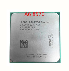 AMD A6-Series A6-8500 A6 8570 3.5 GHz 65W Dual-Core CPU Processor AD875BAGM23AB Socket AM4