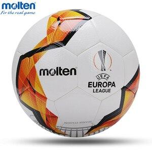 Image 1 - 2020 Original Molten Soccer Ball Official Size 4 Size 5 Football Ball Team Sports Training Football League Balls futbol bola