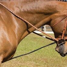 Черный конский шейный носилки для тренировки лошади уход инструмент Конный принадлежности регулируемый 3 метра