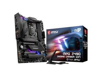 MSI MPG Z490 GAMING CARBON WIFI motherboard+Intel i9-10900K CPU motherboard+CPU set