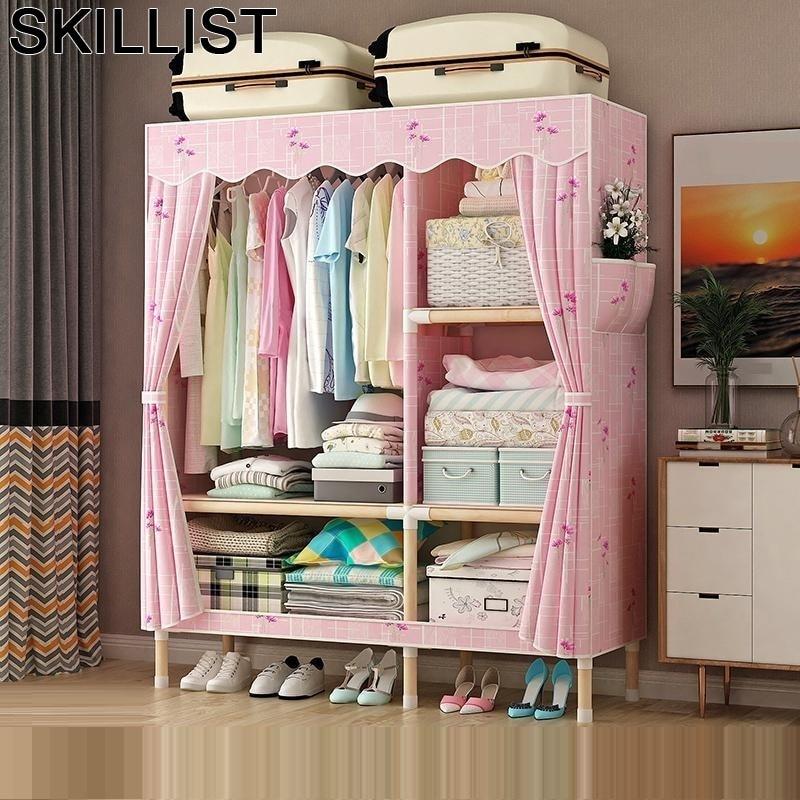 Per La Casa De Almacenamiento Kleiderschrank Ropero Mobili Armario Tela Bedroom Furniture Mueble font b Closet