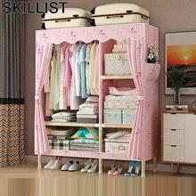 Per La Casa De Almacenamiento Kleiderschrank Ropero Mobili Armario Tela Bedroom Furniture Mueble Closet Guarda Roupa Wardrobe