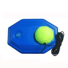 Сверхмощный теннисный учебные пособия инструменты с эластичной веревке мяч самостоятельной долг отскок теннис тренер спарринг-партнера прибор